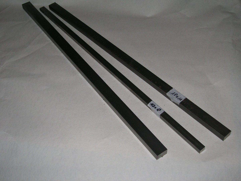 keilstahl c45 c 25 x 14 x 500mm 1 st ck din 6880 metall. Black Bedroom Furniture Sets. Home Design Ideas
